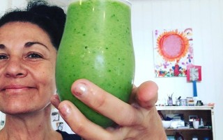 I could paint with my green juice